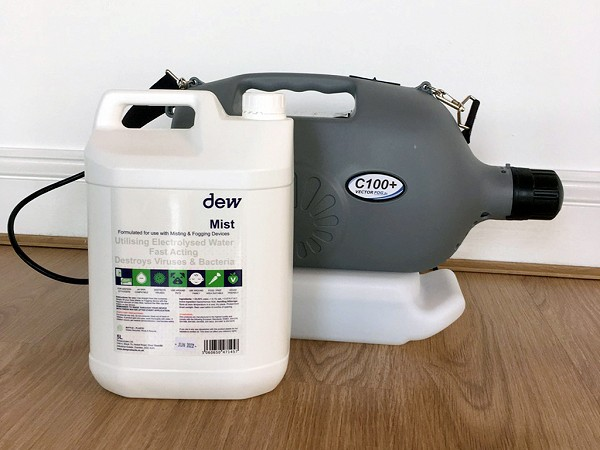 Fogger cleaning device