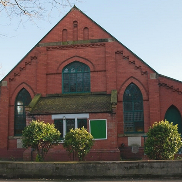 The exterior of the Greenfield Church in Urmston
